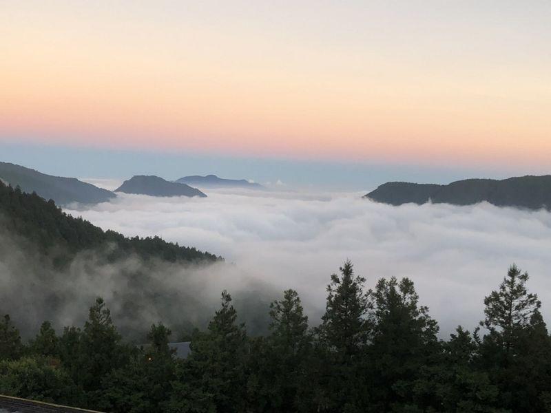 太平山美麗雲海 宛如人間仙境